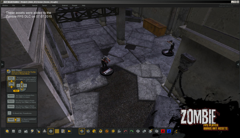 Screenshot 14 - Axis Game Factory's AGFPRO Zombie FPS Player