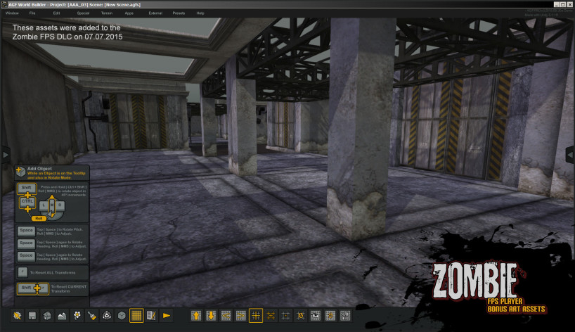 Screenshot 12 - Axis Game Factory's AGFPRO Zombie FPS Player