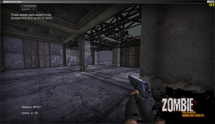 Screenshot 11 - Axis Game Factory's AGFPRO Zombie FPS Player