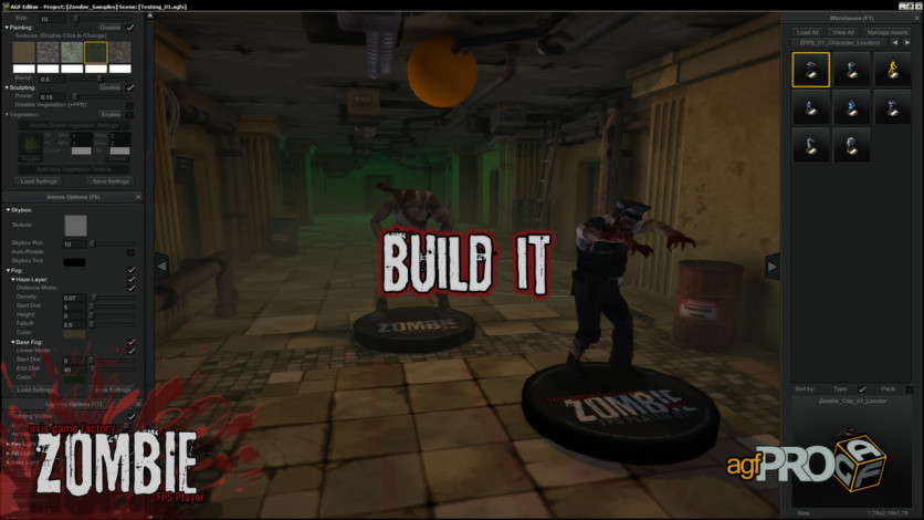 Screenshot 1 - Axis Game Factory's AGFPRO Zombie FPS Player