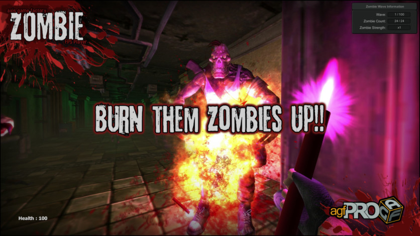Screenshot 6 - Axis Game Factory's AGFPRO Zombie FPS Player