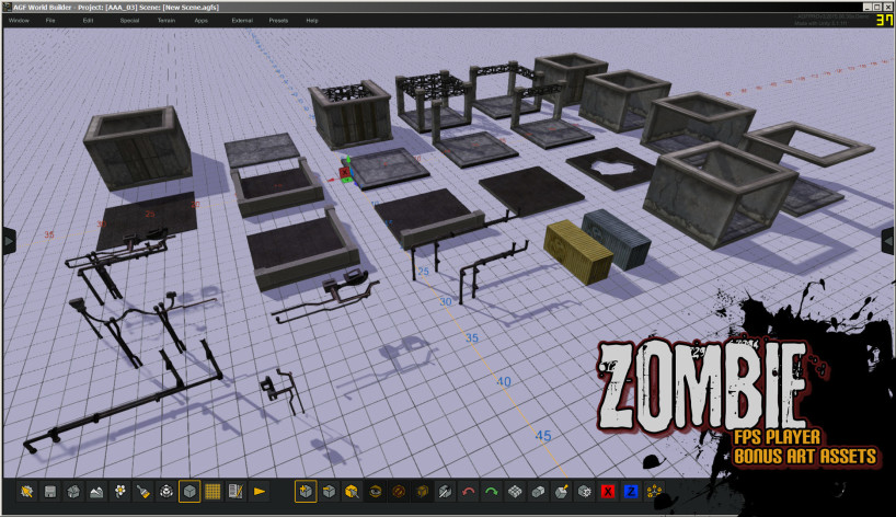 Screenshot 9 - Axis Game Factory's AGFPRO Zombie FPS Player