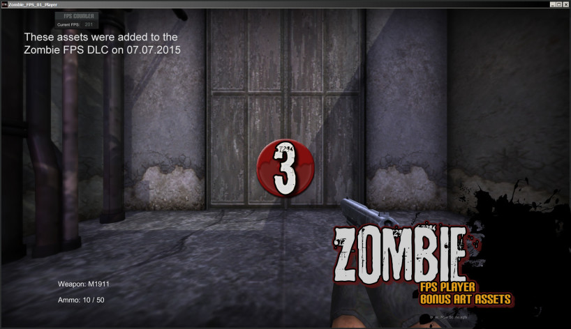 Screenshot 10 - Axis Game Factory's AGFPRO Zombie FPS Player