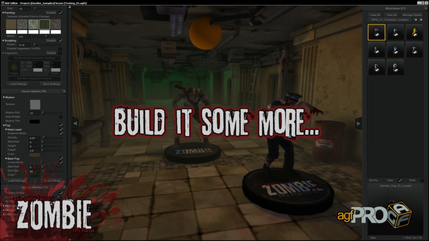 Screenshot 3 - Axis Game Factory's AGFPRO Zombie FPS Player