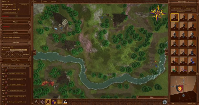 Screenshot 4 - AGFPRO BattleMat Multi-Player
