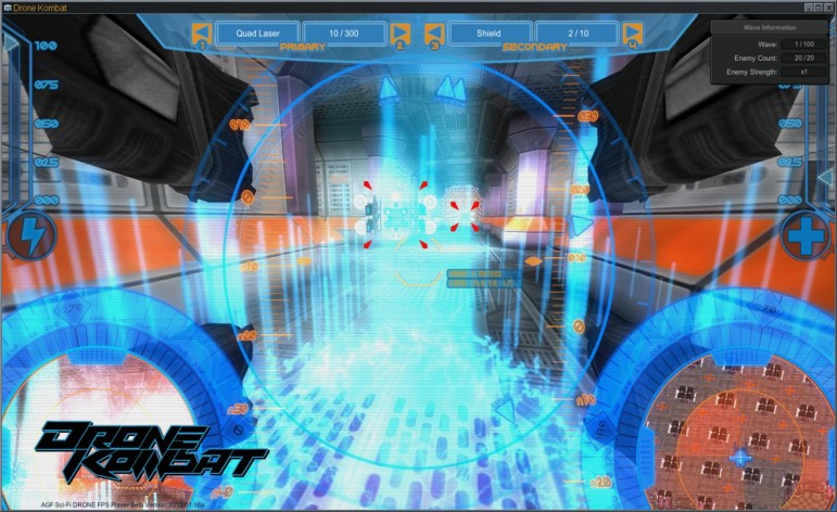 Screenshot 3 - Axis Game Factory's AGFPRO - Drone Kombat FPS Multiplayer
