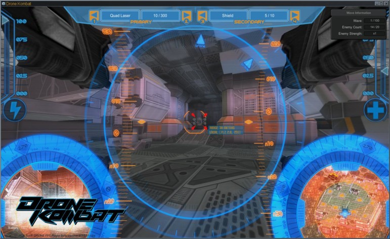 Screenshot 4 - Axis Game Factory's AGFPRO - Drone Kombat FPS Multiplayer