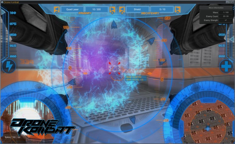 Screenshot 2 - Axis Game Factory's AGFPRO - Drone Kombat FPS Multiplayer