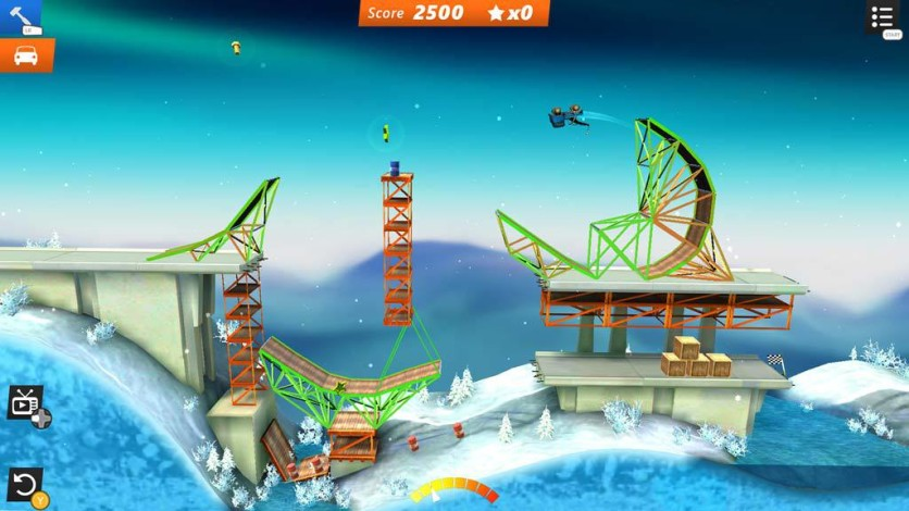 Screenshot 2 - Bridge Constructor Stunts