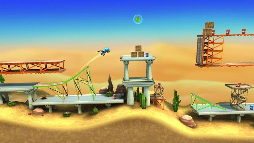 Screenshot 4 - Bridge Constructor Stunts