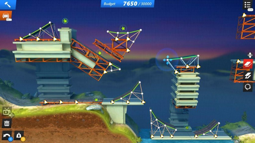 Screenshot 3 - Bridge Constructor Stunts