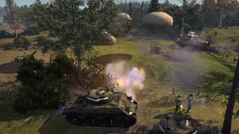Screenshot 4 - Company of Heroes 2 - The Western Front Armies, US Forces
