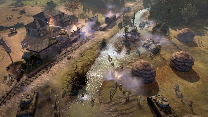 Screenshot 8 - Company of Heroes 2 - The Western Front Armies, US Forces