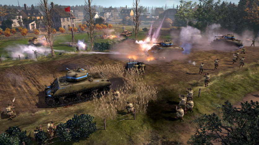Screenshot 9 - Company of Heroes 2 - The Western Front Armies, US Forces
