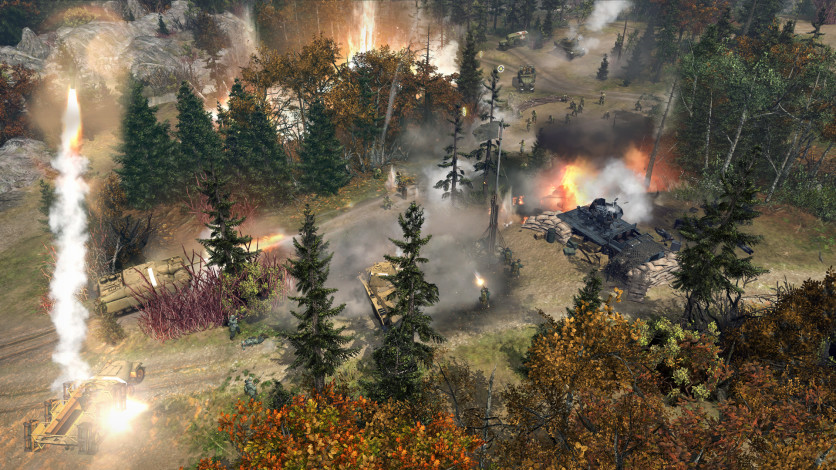 Screenshot 2 - Company of Heroes 2 - The Western Front Armies, US Forces