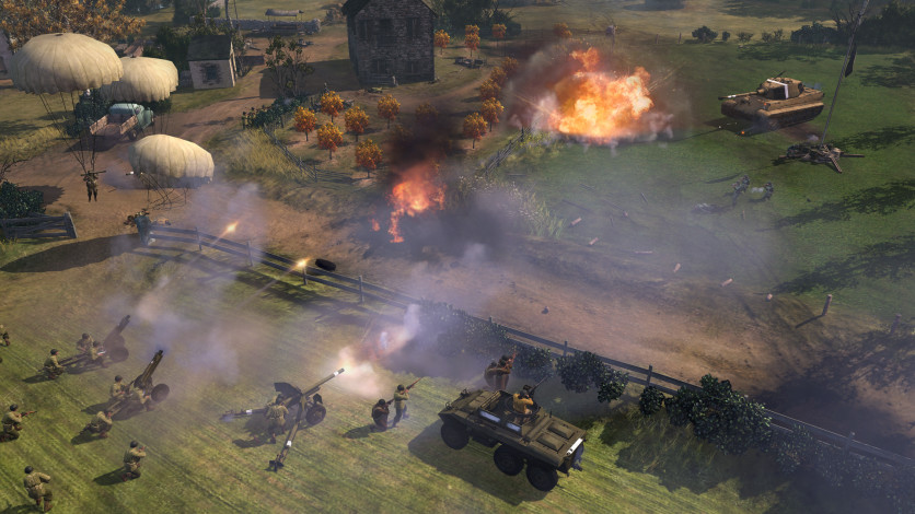 Screenshot 3 - Company of Heroes 2 - The Western Front Armies, US Forces