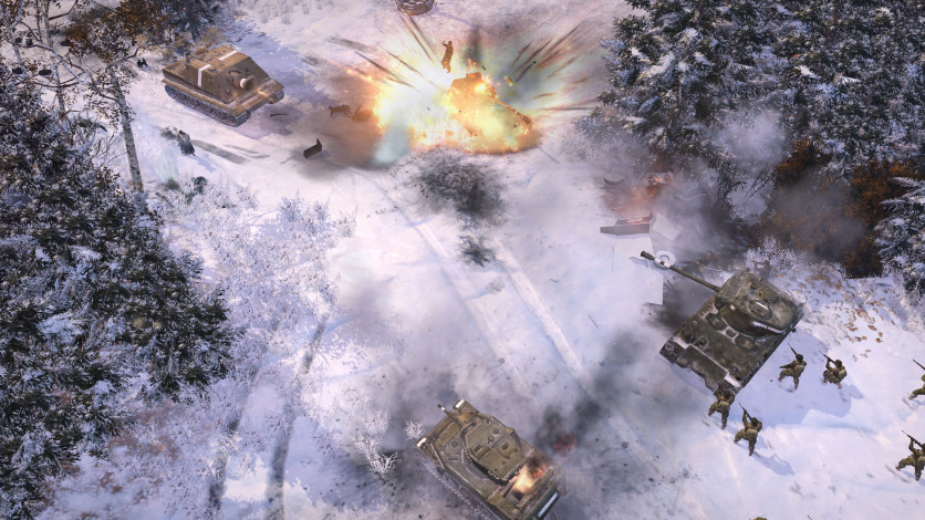 Screenshot 10 - Company of Heroes 2 - The Western Front Armies, US Forces