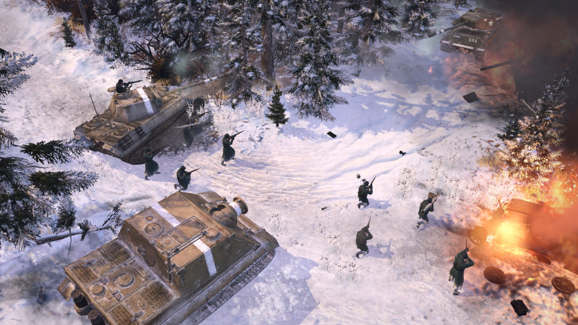 Screenshot 5 - Company of Heroes 2 - The Western Front Armies, US Forces