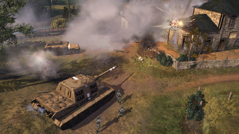 Screenshot 6 - Company of Heroes 2 - The Western Front Armies, US Forces