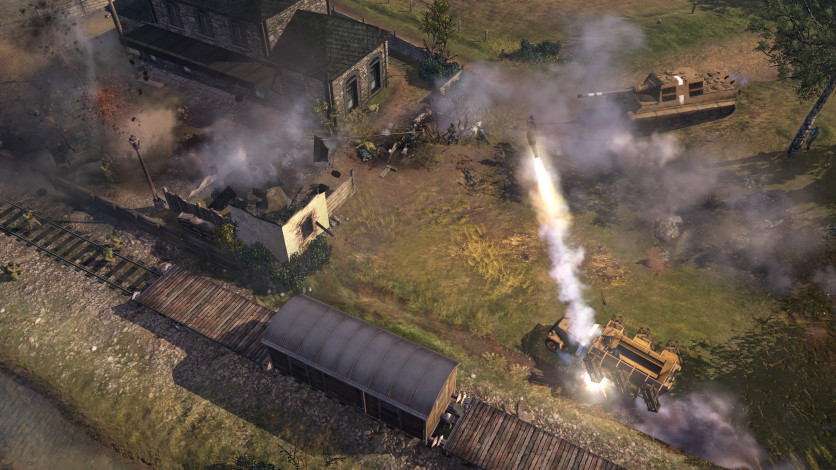 Screenshot 7 - Company of Heroes 2 - The Western Front Armies, US Forces