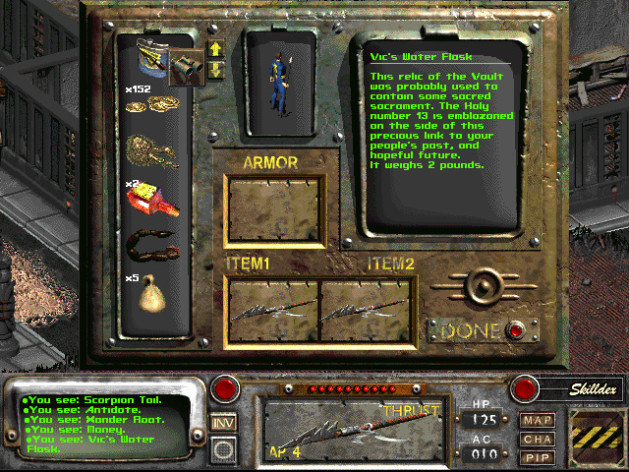 Screenshot 4 - Fallout 2: A Post Nuclear Role Playing Game
