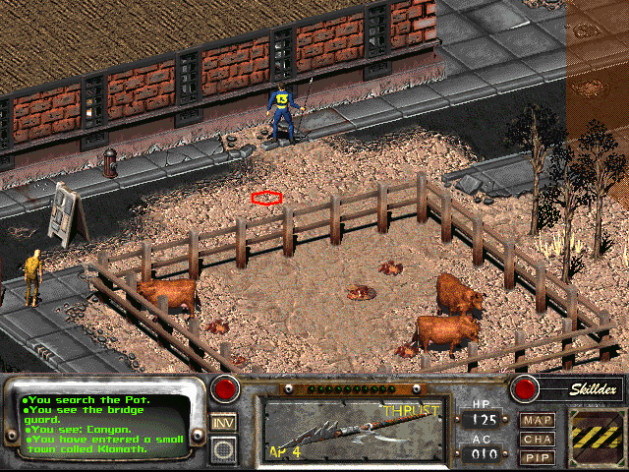 Screenshot 5 - Fallout 2: A Post Nuclear Role Playing Game