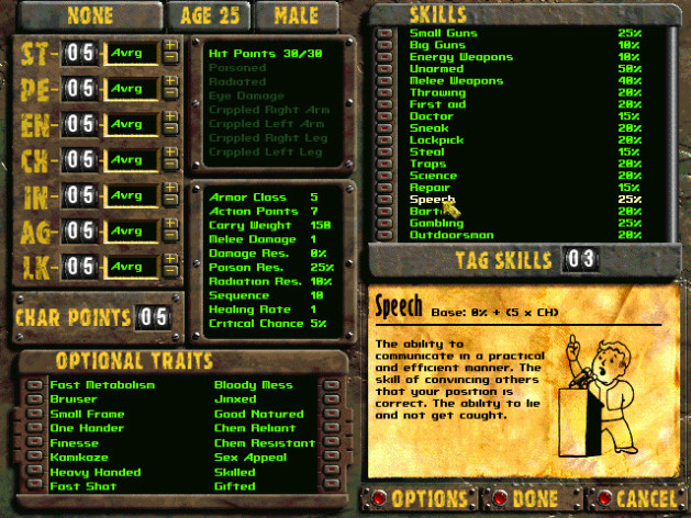 Screenshot 1 - Fallout 2: A Post Nuclear Role Playing Game