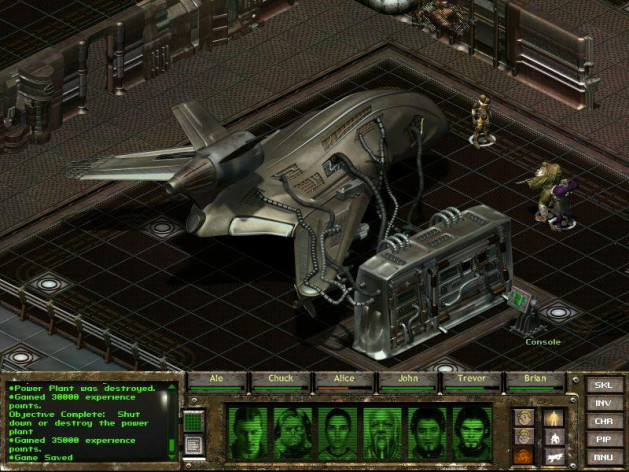 Screenshot 5 - Fallout Tactics: Brotherhood of Steel