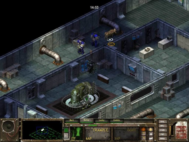 Screenshot 3 - Fallout Tactics: Brotherhood of Steel