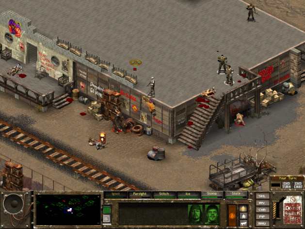 Screenshot 1 - Fallout Tactics: Brotherhood of Steel