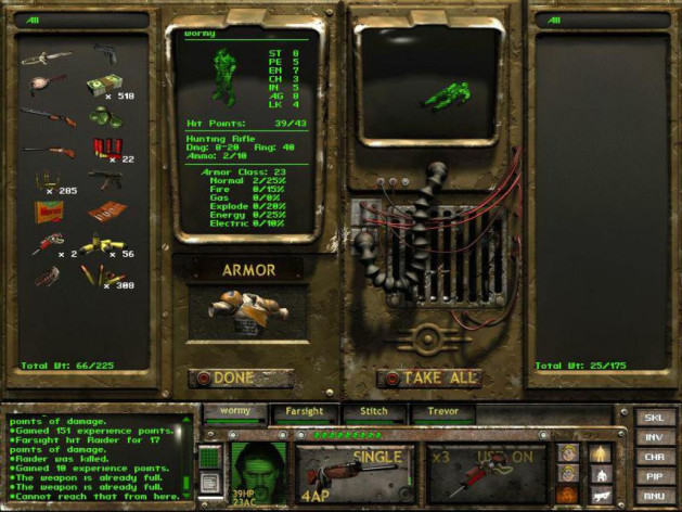Screenshot 2 - Fallout Tactics: Brotherhood of Steel