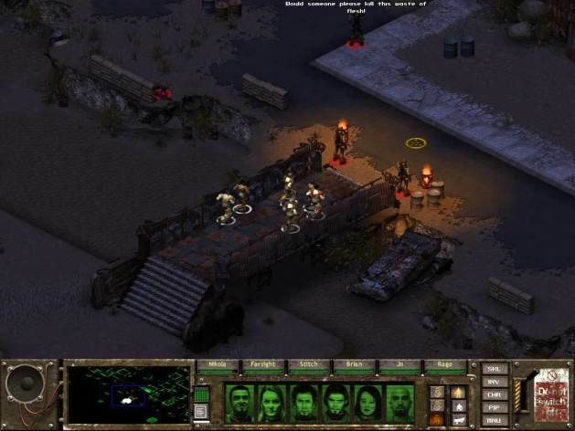 Screenshot 4 - Fallout Tactics: Brotherhood of Steel
