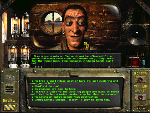 Screenshot 5 - Fallout: A Post Nuclear Role Playing Game