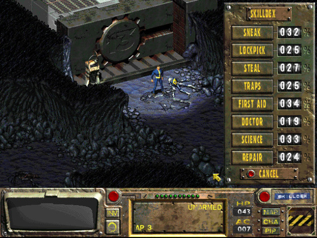 Screenshot 4 - Fallout: A Post Nuclear Role Playing Game