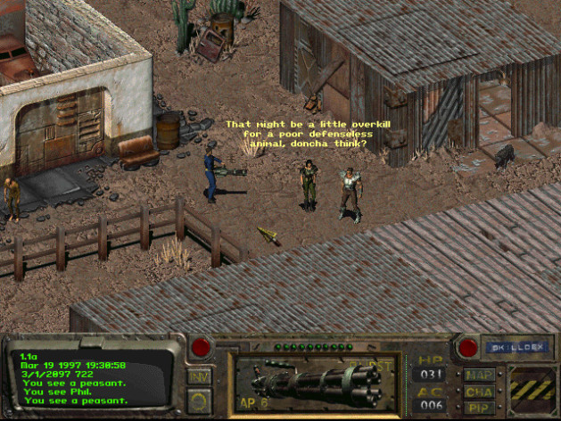 Screenshot 3 - Fallout: A Post Nuclear Role Playing Game
