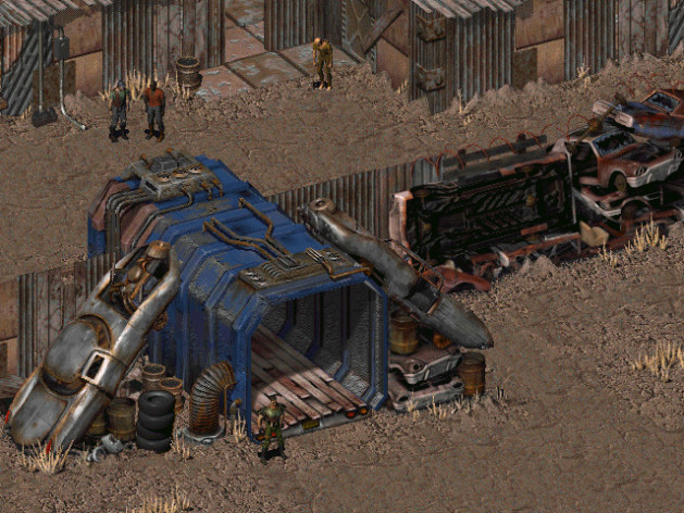 Screenshot 1 - Fallout: A Post Nuclear Role Playing Game