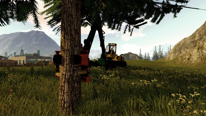 Screenshot 2 - Forestry 2017 - The Simulation