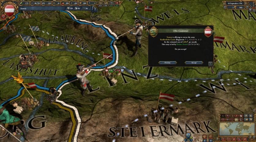 Screenshot 1 - Europa Universalis IV: Mare Nostrum