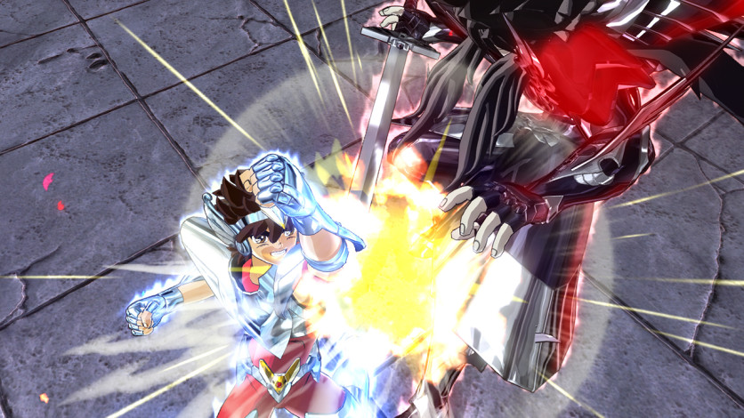 Screenshot 3 - Saint Seiya: Soldiers' Soul