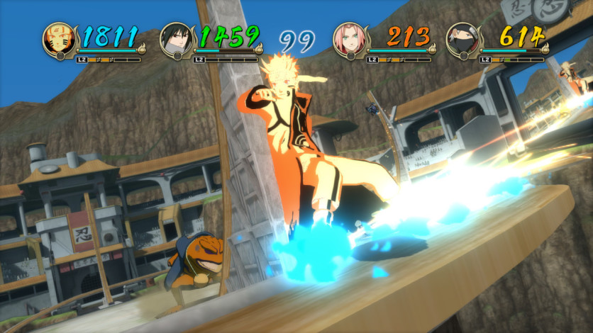 Screenshot 3 - Naruto Shippuden: Ultimate Ninja STORM Revolution