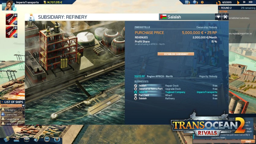 Screenshot 11 - TransOcean 2: Rivals