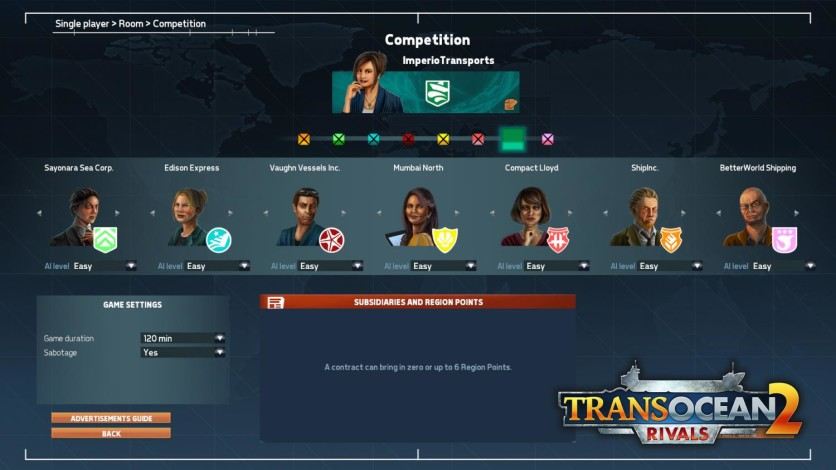 Screenshot 2 - TransOcean 2: Rivals