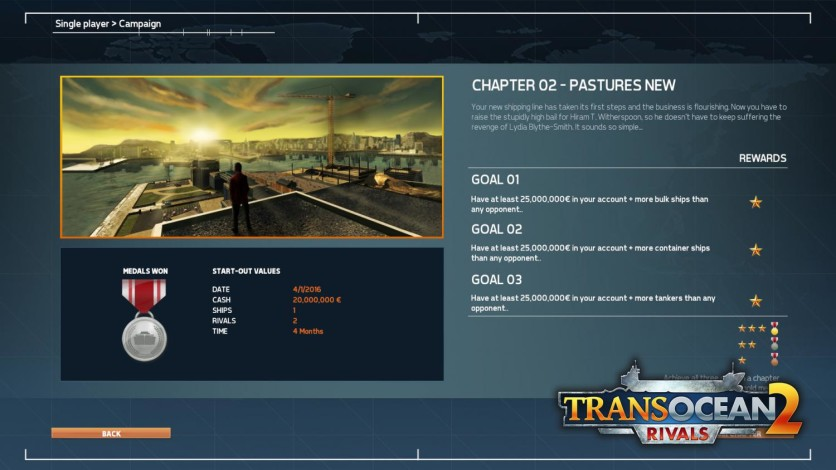 Screenshot 3 - TransOcean 2: Rivals
