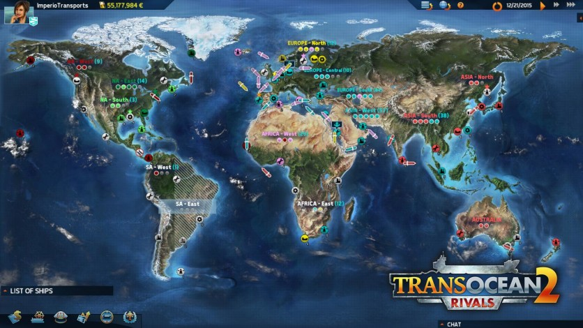 Screenshot 21 - TransOcean 2: Rivals