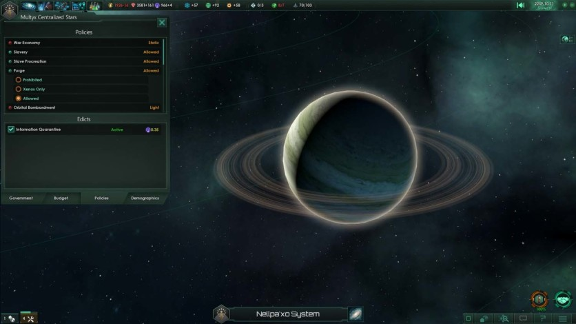 Screenshot 8 - Stellaris Galaxy Edition