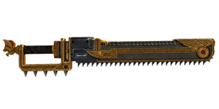 Screenshot 1 - Warhammer 40,000: Space Marine - Golden Relic Chainsword