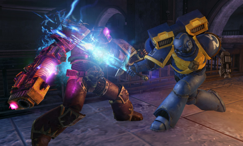 Screenshot 1 - Warhammer 40,000: Space Marine - Power Sword