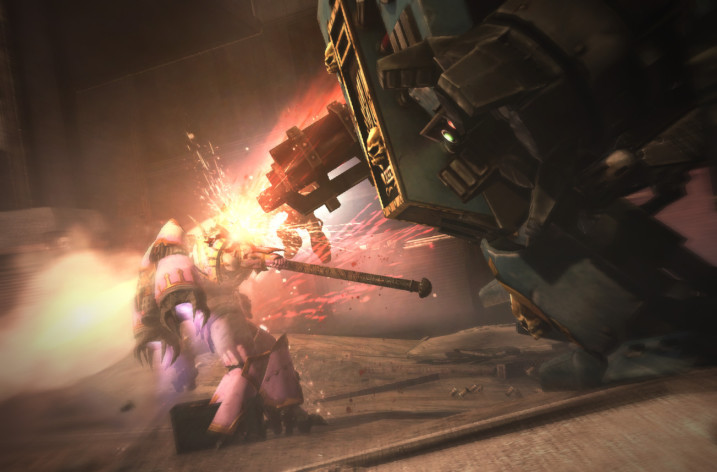 Screenshot 4 - Warhammer 40,000: Space Marine - The Dreadnought