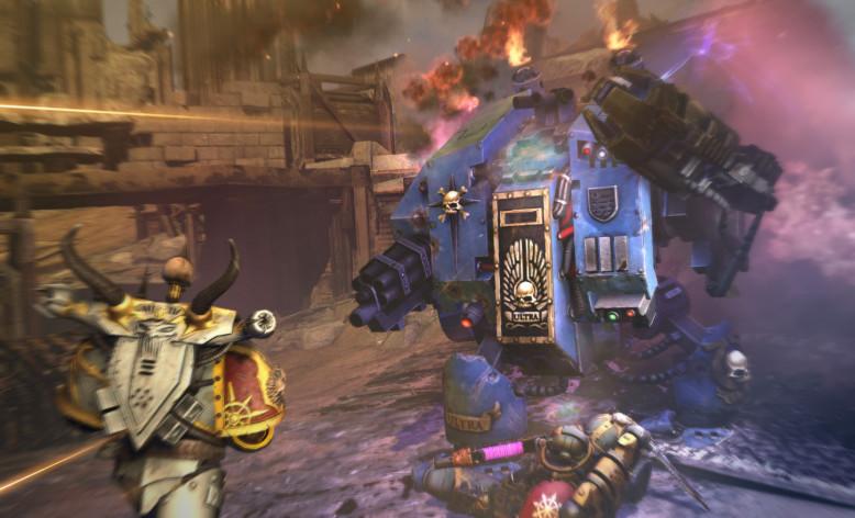 Screenshot 1 - Warhammer 40,000: Space Marine - The Dreadnought