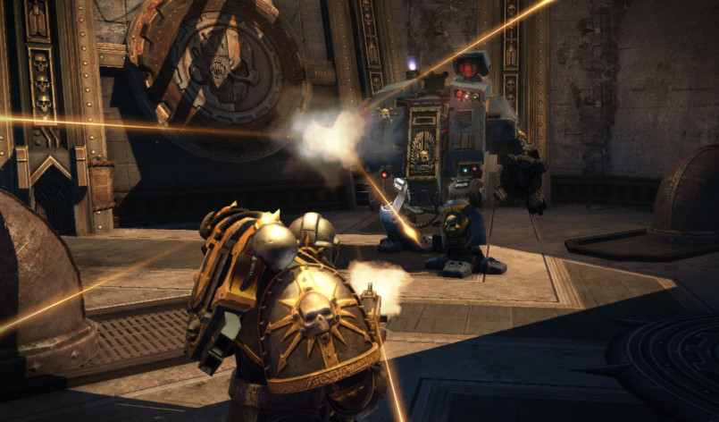 Screenshot 2 - Warhammer 40,000: Space Marine - The Dreadnought